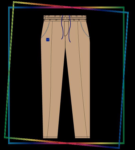 Pantalón sudadera de moda. Te apoyamos con diseño, ideas y materiales para tus proyectos.