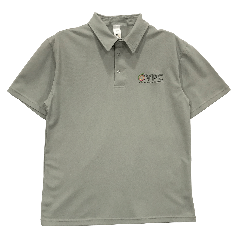 Camiseta tipo polo manga corta en materiales de lafayette, bordado tamaño bolsillo.