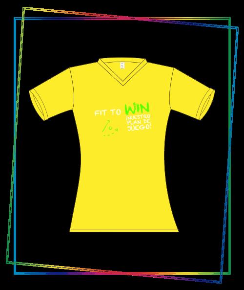 Camiseta tipo t-shirt en variedad de materiales, tipo de marcación estampación.